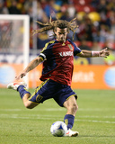 Oct 14, 2009, New York Red Bulls vs Real Salt Lake - Kyle Beckerman Photographic Print by Melissa Majchrzak