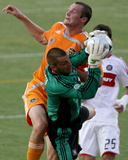 Aug 31, 2008, Chicago Fire vs Houston Dynamo - Jon Busch Photo af Thomas B. Shea