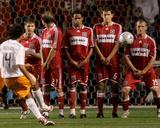May 17, 2008, Houston Dynamo vs Chicago Fire - Chad Barrett Photographic Print by Brian Kersey