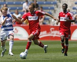 May 31, 2009, FC Dallas vs Chicago Fire - Justin Mapp Photographic Print by Brian Kersey