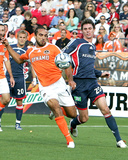 2006 MLS Cup: Nov 12, Houston Dynamo vs New England Revolution - Dwayne DeRosario Photo by Tony Quinn
