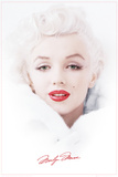 Marilyn Monroe - White Prints