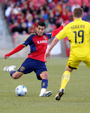 Oct 31, 2009, Columbus Crew vs Real Salt Lake - Javier Morales Photographic Print by Melissa Majchrzak