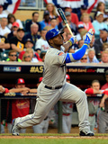 85th MLB All Star Game: Jul 15, 2014 - Yasiel Puig Photographic Print by Rob Carr