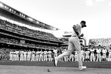 85th MLB All Star Game: Jul 15, 2014 - Derek Jeter Fotografisk tryk af Rob  Carr