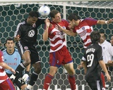 Sep 13, 2008, FC Dallas vs D.C. United - Kenny Cooper Photographic Print by Tony Quinn