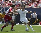 May 18, 2008, LA Galaxy vs FC Dallas - Landon Donovan Photographic Print by Rick Yeatts
