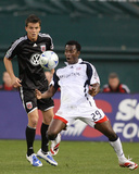 Apr 18, 2009, New England Revolution vs D.C United - Abdoulie Mansally Photographic Print by Tony Quinn