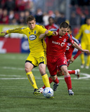 May 2, 2009, Columbus Crew vs Toronto FC - Robbie Rogers Photographic Print by Paul Giamou
