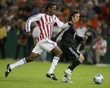 Oct 4, 2008, Chivas USA vs D.C. United - Atiba Harris Photographic Print by Tony Quinn
