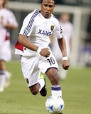 May 23, 2009, Real Salt Lake vs D.C. United - Robbie Findley Photographic Print by Tony Quinn