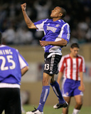 Sep 10, 2005, Chivas USA vs San Jose Earthquakes - Ricardo Clark Photographic Print by John Todd