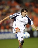 Oct 16, 2008, New England Revolution vs D.C. United - Michael Parkhurst Photographic Print by Tony Quinn