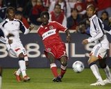2009 Conference Semifinals Game Two: Nov 7, New England Revolution vs Chicago Fire - Patrick Nyarko Photo by Brian Kersey