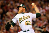 85th MLB All Star Game: Jul 15, 2014 - Sean Doolittle Photographic Print by Rob Carr