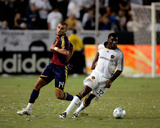 Sep 6, 2008, Real Salt Lake vs Los Angeles Galaxy - Edson Buddle Photographic Print by German Alegria