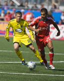 May 17, 2008, Columbus Crew vs Toronto FC - Brian Carroll Photographic Print by Paul Giamou
