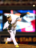 85th MLB All Star Game: Jul 15, 2014 - Scott Kazmir Photographic Print by  Elsa