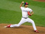 85th MLB All Star Game: Jul 15, 2014 - Yu Darvish Photographic Print by Hannah Foslien