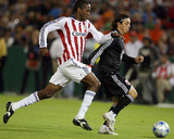 Oct 5, 2008, Chivas USA vs D.C. United - Atiba Harris Photographic Print by Tony Quinn