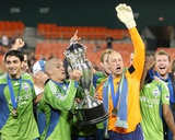 Sep 2, 2009, US Open Cup - Seattle Sounders FC vs D.C. United - Osvaldo Alonso Photographic Print by Tony Quinn