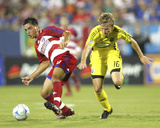 Aug 30, 2008, Columbus Crew vs FC Dallas - Brian Carroll Photographic Print by Rick Yeatts