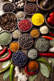 Spices and Herbs Photographic Print by  JanPietruszka