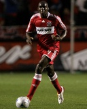 Oct 23, 2008, New York Red Bulls vs Chicago Fire - Bakary Soumare Photo af Brian Kersey