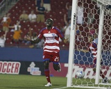 May 24, 2008, Real Salt Lake vs FC Dallas - Dominic Oduro Photo by Rick Yeatts