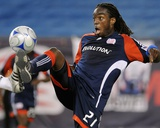 May 30, 2009, D.C. United vs New England Revolution - Shalrie Joseph Photographic Print by Keith Nordstrom