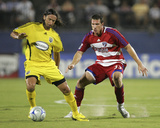 Aug 30, 2008, Columbus Crew vs FC Dallas - Kenny Cooper Photographic Print by Rick Yeatts