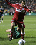 Oct 23, 2008, New York Red Bulls vs Chicago Fire - Chris Rolfe Photo by Brian Kersey
