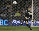 Sep 25, 2008, Los Angeles Galaxy vs Chicago Fire - Jon Busch Photographic Print by Brian Kersey