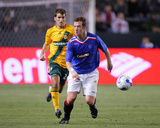 May 23, 2007, Rangers Football Club vs Los Angeles Galaxy - Nathan Sturgis Photographic Print by German Alegria