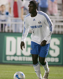 May 19, 2007, Kansas City Wizards vs Colorado Rapids - Eddie Johnson Photographic Print by Michael A. Martin