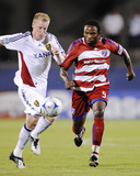 Sep 26, 2009, Real Salt Lake vs FC Dallas - Nat Borchers Photo by Rick Yeatts