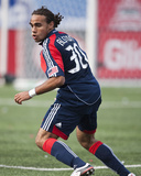 May 23, 2009, New England Revolution vs Toronto FC - Kevin Alston Photographic Print by Paul Giamou