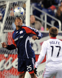 Oct 17, 2009, Chicago Fire vs New England Revolution - Darrius Barnes Photographic Print by Keith Nordstrom