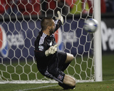 2009 Eastern Conference Championship: Nov 14, Real Salt Lake vs Chicago Fire - Jon Busch Photographic Print by Brian Kersey