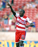 Jul 8, 2006, New York Red Bulls vs FC Dallas - Dominic Oduro Photo by Larry Scott Wambsganss