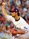 85th MLB All Star Game: Jul 15, 2014 - Yu Darvish Photographic Print by Rob Carr