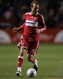 Oct 23, 2008, New York Red Bulls vs Chicago Fire - Justin Mapp Photo by Brian Kersey