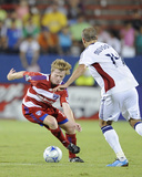 Sep 26, 2009, Real Salt Lake vs FC Dallas - Dax McCarty Photographic Print by Rick Yeatts