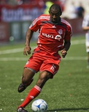 Apr 19, 2008, Real Salt Lake vs Toronto FC - Marvell Wynne Photographic Print by Paul Giamou
