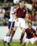 Oct 3, 2009, New England Revolution vs Colorado Rapids - Conor Casey Photographic Print by Bart Young