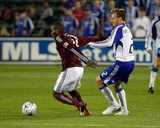 Sep 26, 2009, Kansas City Wizards vs Colorado Rapids - Omar Cummings Photographic Print