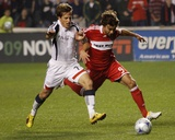 2009 Conference Semifinals Game Two: Nov 7, New England Revolution vs Chicago Fire - Baggio Husidic Photo by Brian Kersey