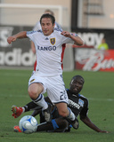 May 30, 2009, Real Salt Lake vs San Jose Earthquakes - Ned Grabavoy Photographic Print by John Todd