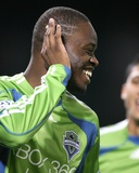 Sep 12, 2009, Seattle Sounders FC vs D.C. United - Steve Zakuani Photographic Print by Tony Quinn