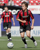 May 7, 2005, MetroStars vs San Jose Earthquakes - Michael Bradley Photographic Print by Rich Schultz